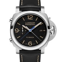Panerai PAM00524 PAM 524 - Luminor 1950 3 Days Chrono Acciaio...
