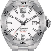 TAG Heuer Analog Display Automatic Self Wind Silver Watch...
