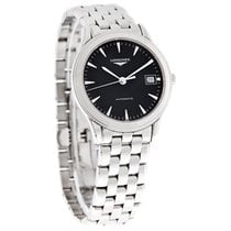 Longines Flagship Mens Black Dial Swiss Automatic Watch...