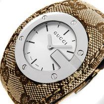 Gucci G-FaceYA104503 Saphirglas Sunray-Dial Luxus Damen Uhr