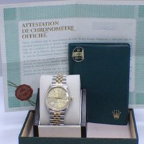 Rolex Oyster Perpetual 1002 36MM 18K Yellow Gold  & Steel