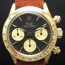 Rolex Daytona 6265 Yellow Gold 18kt Black Dial
