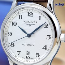 Longines Men's Master Collection Date 38.5 Steel on Brown...
