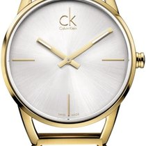 ck Calvin Klein Stately K3G23526 Damenarmbanduhr Design Highlight