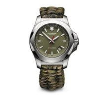 Victorinox Swiss Army I.N.O.X. green dial and paracord...