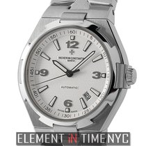 Vacheron Constantin Overseas Stainless Steel 42mm Silver Dial...