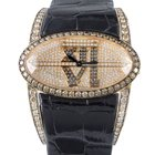 Chopard Classic Women's Rose Gold Diamond Pave Wristwatch...