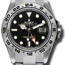 Rolex SS/SS Explorer 2 Black dail