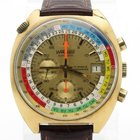 Wakmann Vintage Gold Plated Chronograph With Annual Calendar 42mm