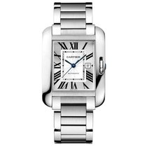 Cartier Tank Anglaise Automatic Date Ladies watch W5310009
