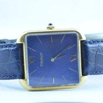 Tissot Damen Uhr Quartz 26mm 18k 750 Massiv Gold Vintage Rar...