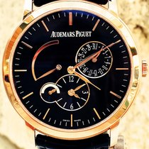 Audemars Piguet Jules Audemars Dual Time 18kt Rose Gold...