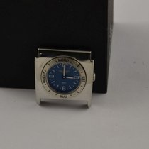 Breitling Chronomat Utc Zusatzmodul Stahl/stahl Rar 20-18 Blau...