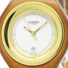 Hermès Harnais Steel Leather Quartz  Ladies Watch Ha1.220...