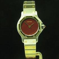 Cartier Santos Ronde 18kt 750 Gold / Edelstahl Automatic...