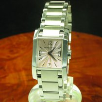 Baume & Mercier Diamant Edelstahl Damenuhr Inkl. Box Ref...