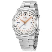 Mido GMT Automatic Silver Dial Men's Watch