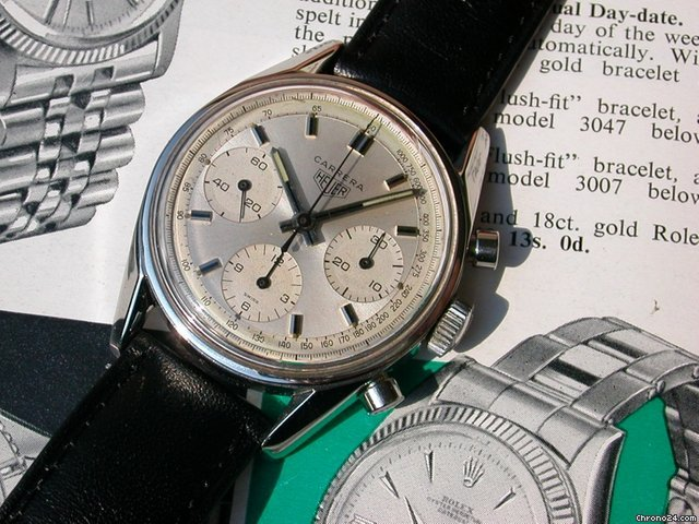Heuer Carrera aus den 60er Jahren mit Valjoux 72 &amp;#34;Kultuhr&amp;#34;