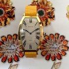Cartier Tonneau 18K Yellow Gold