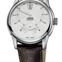 Oris Artelier Jumping Hour Crocodile Digital Hours