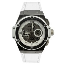 Hublot King Power Unico Titanium White 48 mm
