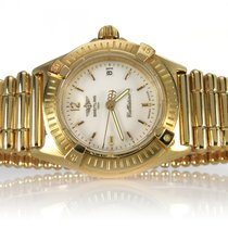 Breitling Callistino Lady K52043 27 mm 750 /- Gelbgold [BRORS...