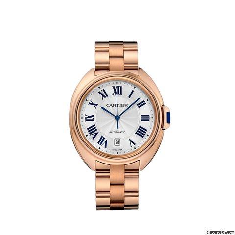 Cartier Gold Watch Mens Rose Gold Men's Watch