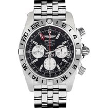 Breitling AB0413B9|BD17|383A CHRONOMAT GMT 47MM STAINLESS...