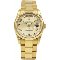 Rolex Men's Rolex Day-Date President 18k Sant Blanc 118208