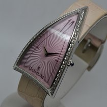 Corum Rocket Diamonds Ladie's Pink Triangle NEW