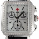 Michele Deco Diamond Mother-of-Pearl Ladies Watch