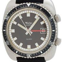 Wyler Incaflex Alarm Watch circa 1970s