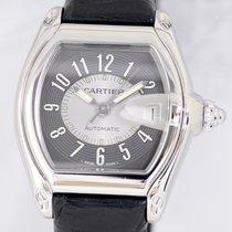 Cartier Roadster Stahl grey dial Automatik Sportlich Dresswatch