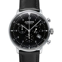 Junkers Bauhaus 6086-2 Quartz Watch With Swiss Ronda Movement...
