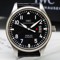 IWC IW326501 Mark XVII Black Dial SS / Alligator UNWORN (25266)