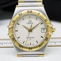 Omega Constellation Quartz SS / 18K 33MM (25335)