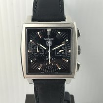 TAG Heuer Monaco Automatic Ref. CW2111-0 Chronograph Black...