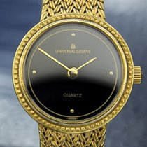 Universal Genève Gold Plated Swiss Made Ladies Quartz 1990s...