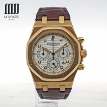 Audemars Piguet Royal Oak Chronograph Rose Gold - 2008 Box and...