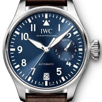 "IWC Big Pilot ""le Petit Prince"" Stainless Steel Blue..."