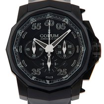 Corum Admiral's Cup Chronograph Black Hull 48 (999 Pieces...