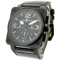 Bell & Ross BR 01 94 Chronograph Automatic in Black Steel