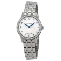 Montblanc Boheme Silver Dial Stainless Steel Ladies Watch