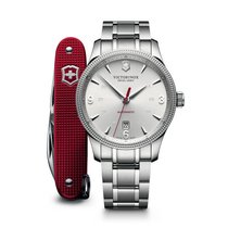Victorinox Swiss Army Alliance with Pioneer Alox, silver dial,...