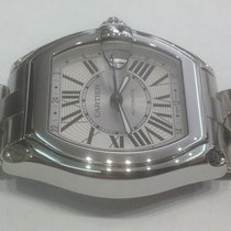 Cartier Roadster XL GMT stainless steel