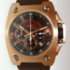 Wyler Code R Pink Gold brown dial
