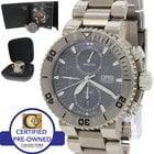 Oris Aquis Titanium Diver Grey Chronograph Watch