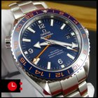 Omega Seamaster Planet Ocean GMT Goodplanet Foundation [NEW]