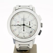 Zenith Port Royal V Chronograph (2014) Steel White dial 40mm