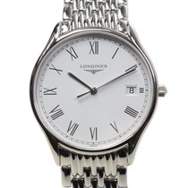 Longines Law Ya Series Stainless Steel White Quartz L4.759.4.11.6